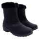 【魅力款】台灣製 女款 中筒專業暖毛保暖雪鞋/雪靴_黑 product thumbnail 1