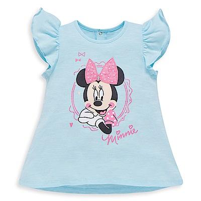 Disney 米妮系列傘狀波浪荷葉上衣 (2色可選)