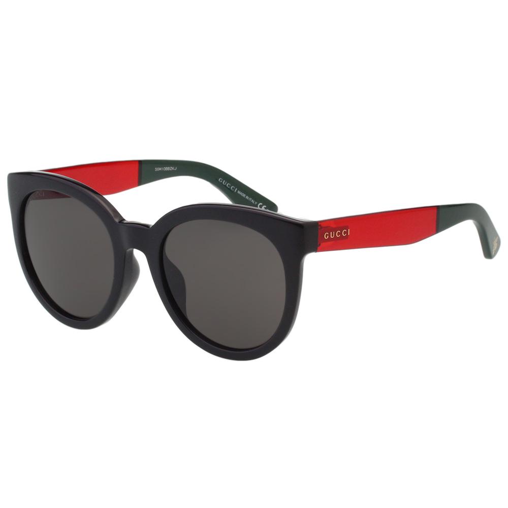 GUCCI 蜜蜂標誌 太陽眼鏡 (黑配紅色)