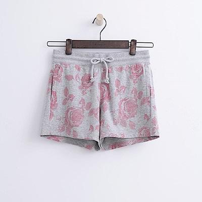 Hang Ten - 女裝 - 花卉印圖運動短褲-粉紅色