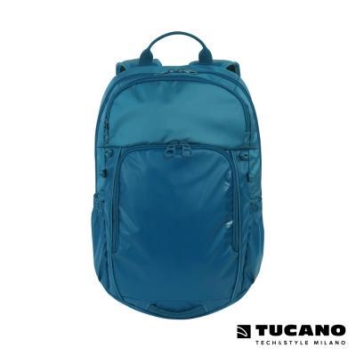 TUCANO TECH-YO UP 15吋時尚多功能後背電腦包-藍