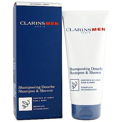 (即期品)CLARINS克蘭詩 植物清爽洗髮精200ml