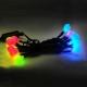 聖誕燈裝飾燈LED20燈珍珠燈造型燈(彩色光)(插電式/自動雙色雙閃) product thumbnail 1
