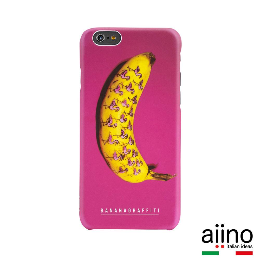 Banana Graffiti 香蕉塗鴉系列 iPhone 6 Plus5.5吋-鶴滿蕉
