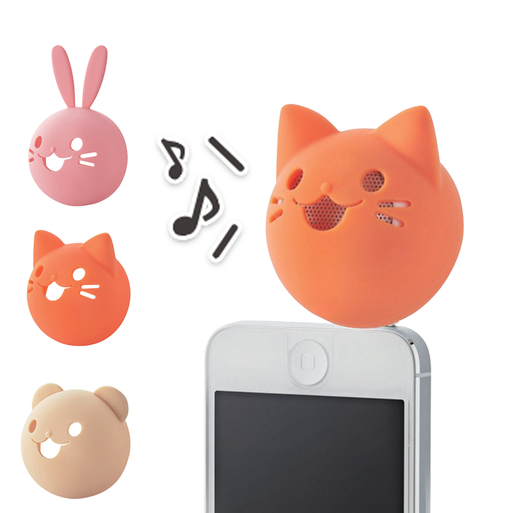 ELECOM 動物造型喇叭-貓