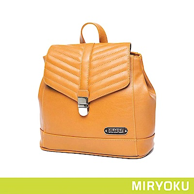 MIRYOKU / 斜紋飾帶兩用後背包