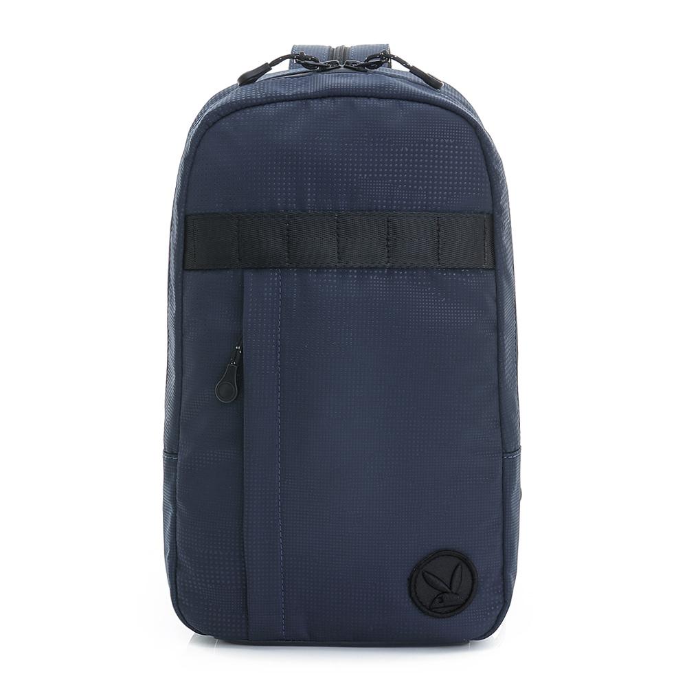 PLAYBOY- 2WAY單肩背包 AIR系列-個性藍