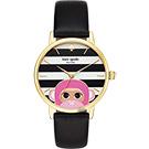 Kate Spade Merto 粉紅QQ猴腕錶-34mm