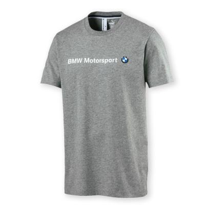 PUMA-男性BMW系列短袖T恤-中麻花灰-歐規