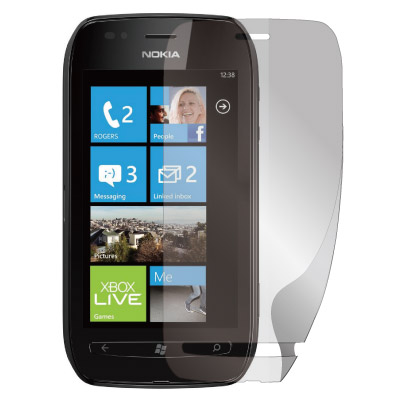 NOKIA Lumia 710 抗刮螢幕保護貼 (HC) - 2入