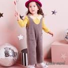 Little moni 雙口袋連身寬褲 (共2色)