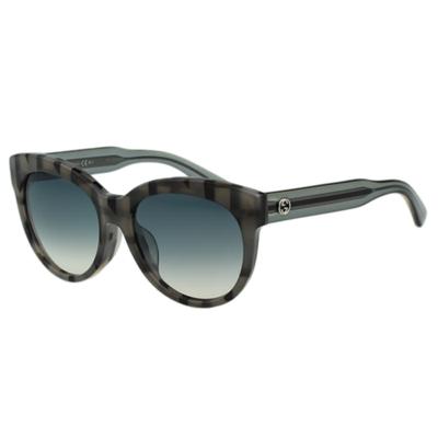 GUCCI- 廣告款 時尚 太陽眼鏡 (灰黑色)