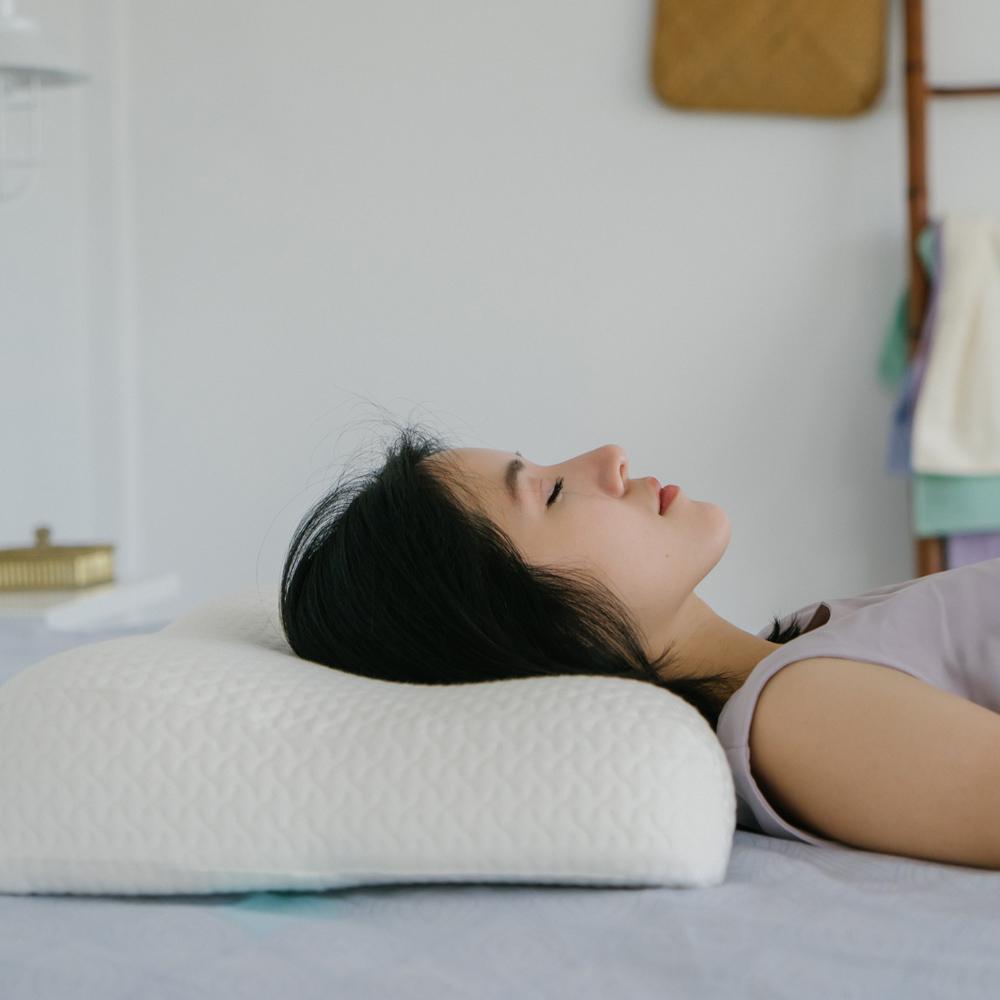 翔仔居家 恆溫親水抗菌記憶枕-雙向優眠全適枕-單入