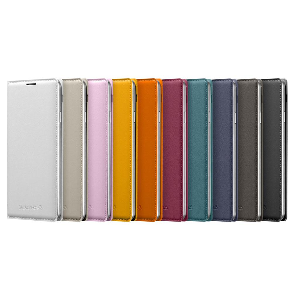 Samsung Note 3(N900) 原廠側翻式皮套(公司貨)