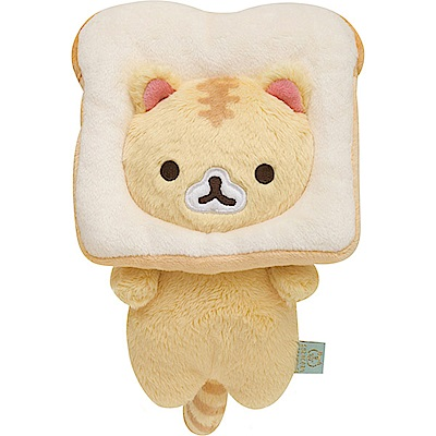 捲心奶油貓土司麵包系列毛絨公仔 奶油貓 San-X
