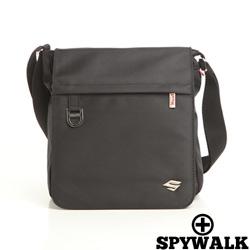 SPYWALK - 紳士品格簡約實用款側肩包-大