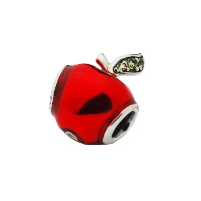Pandora 潘朵拉 Disney聯名 塘瓷紅蘋果墜