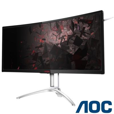 AOC AGON AG352QCX 35型 VA 2K 電競曲面電腦螢幕
