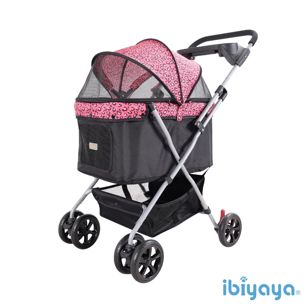 IBIYAYA依比呀呀-小資國民寵物推車-粉紅豹(FS1617)