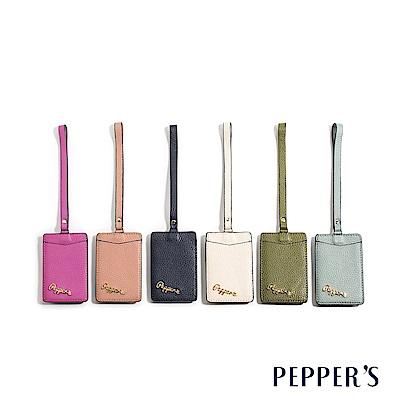 PEPPER`S  Doris 牛皮證件卡夾 - 6色