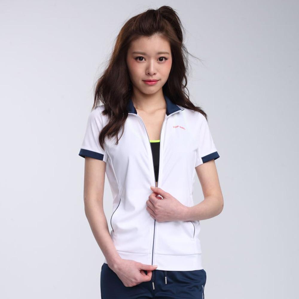 【TOP GIRL】POLY針織外套-白色