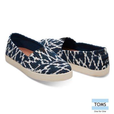 TOMS 編織緹花休閒鞋-女款