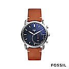 FOSSIL Q COMMUTER 智能錶-藍色 約44mm FTW1151