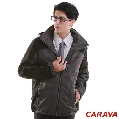 CARAVA 《男款機能保暖外套》(深灰)