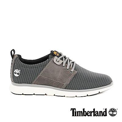 Timberland-男款Fly-Roam皮革布面