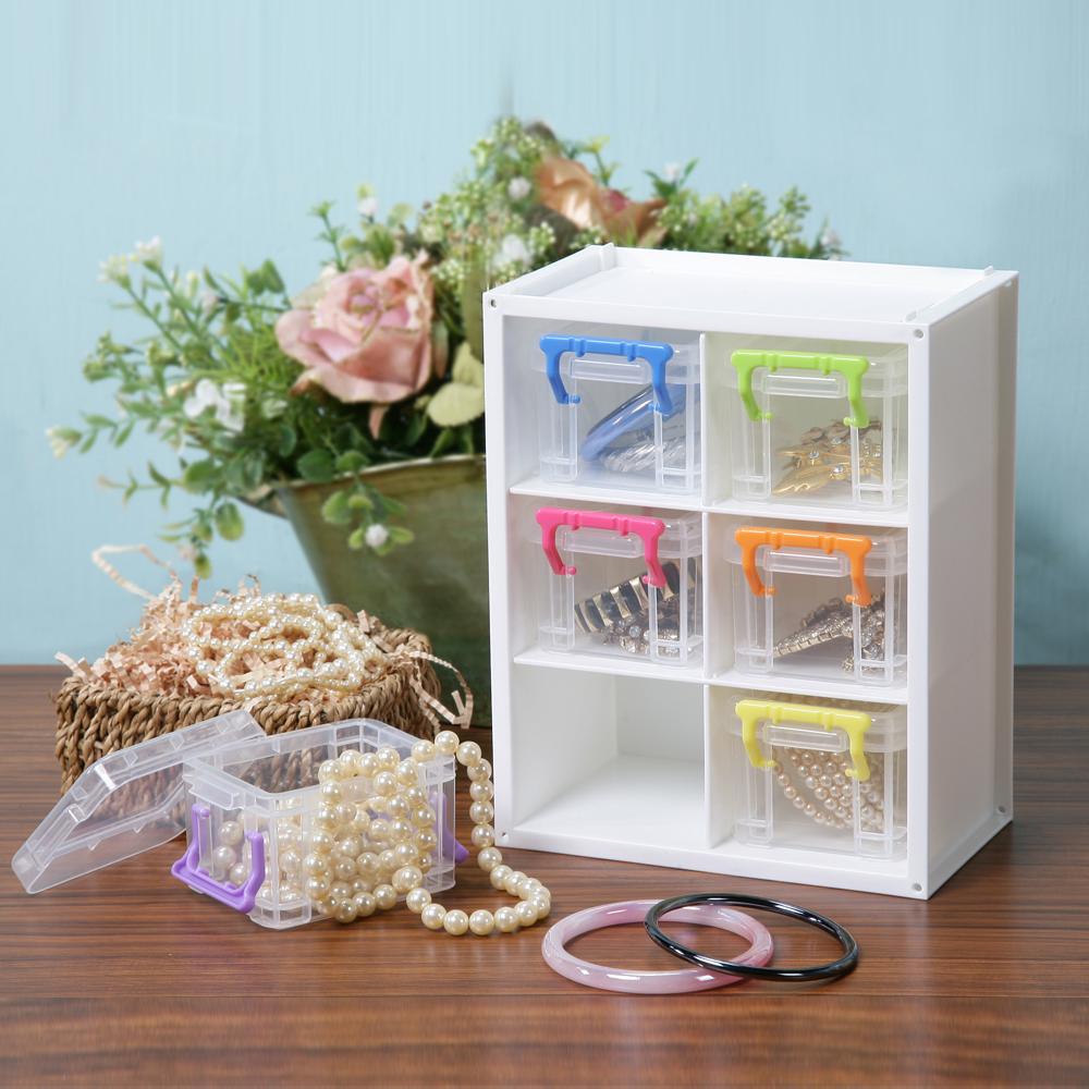 創意達人跳跳糖MINI小物收納盒(6組)