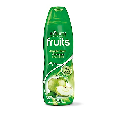 (即期品)澳洲Natures Organics 植粹平衡調理洗髮精(綠)500mlx5入