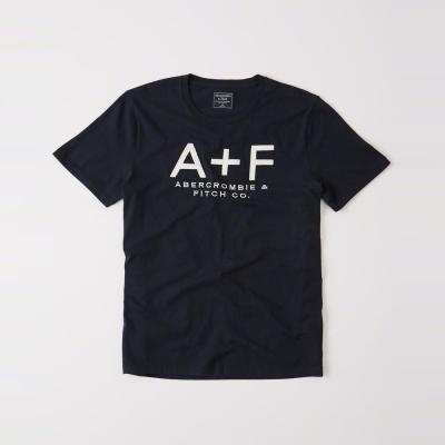 AF a&f Abercrombie & Fitch 短袖 T恤 藍色 299