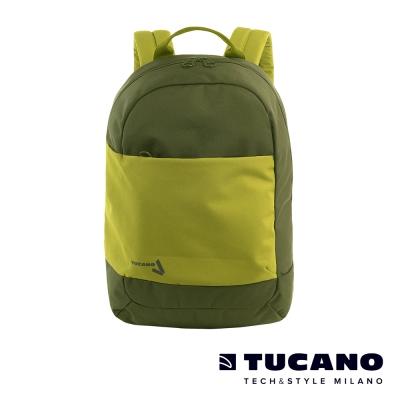 TUCANO SVAGO 15.6吋輕量休閒後背包-綠