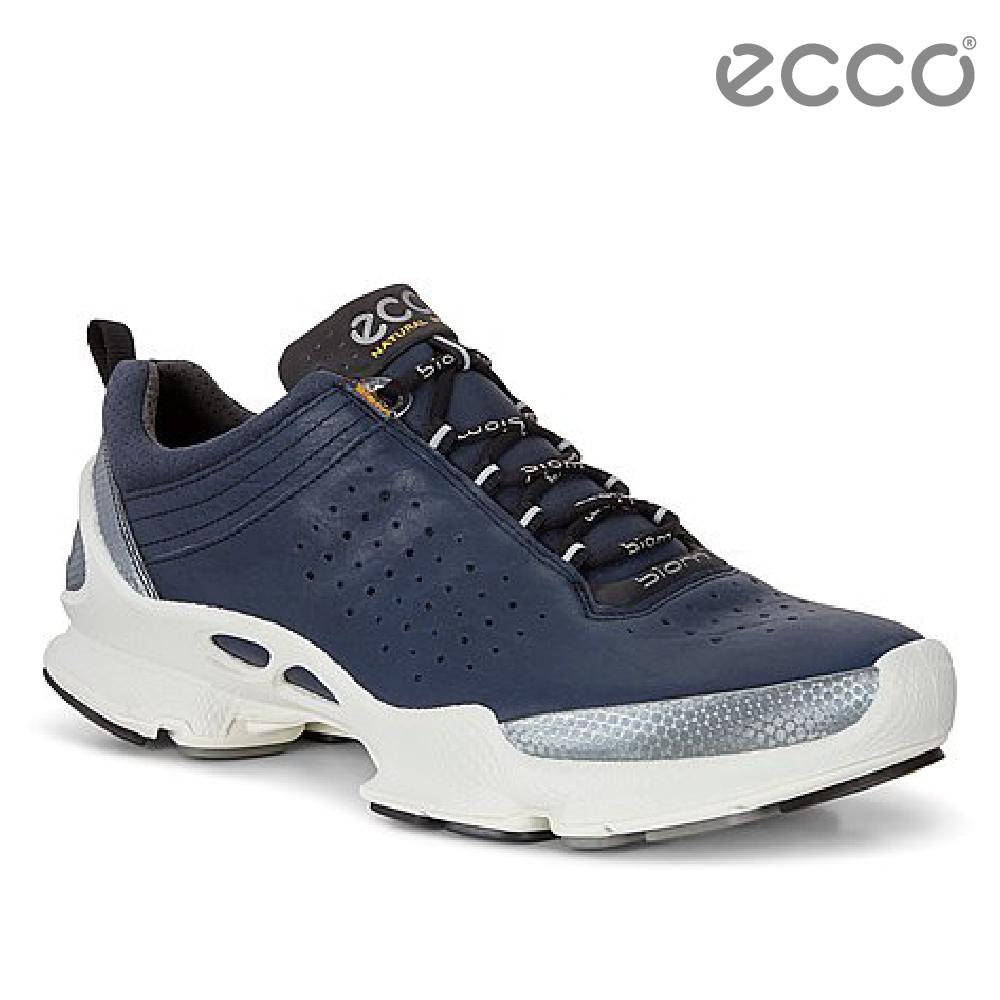 ECCO BIOM C 男 銷售冠軍自然律動健步鞋-藍