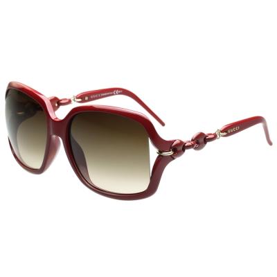 GUCCI-時尚太陽眼鏡(紅色)
