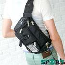 DF SPORT - 嚴選型男專屬休閒個性款斜背/腰包2用