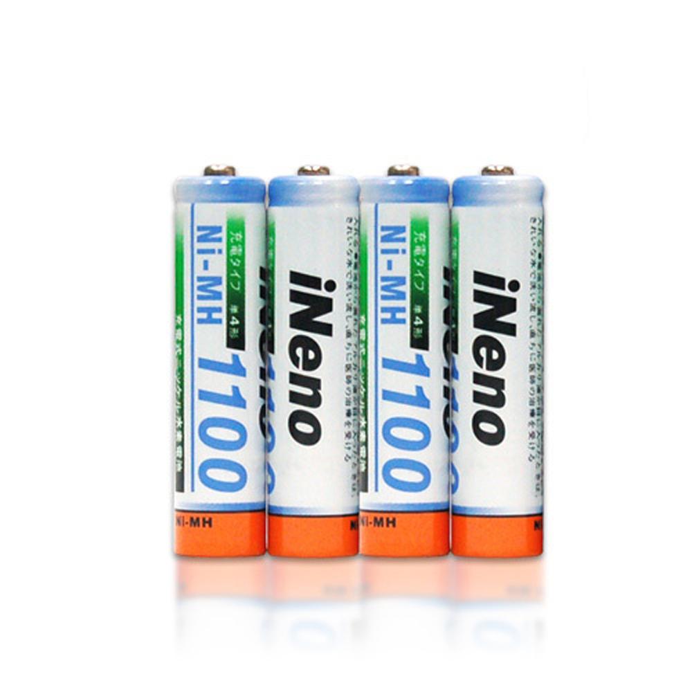 iNeno4號高容量鎳氫充電電池16入