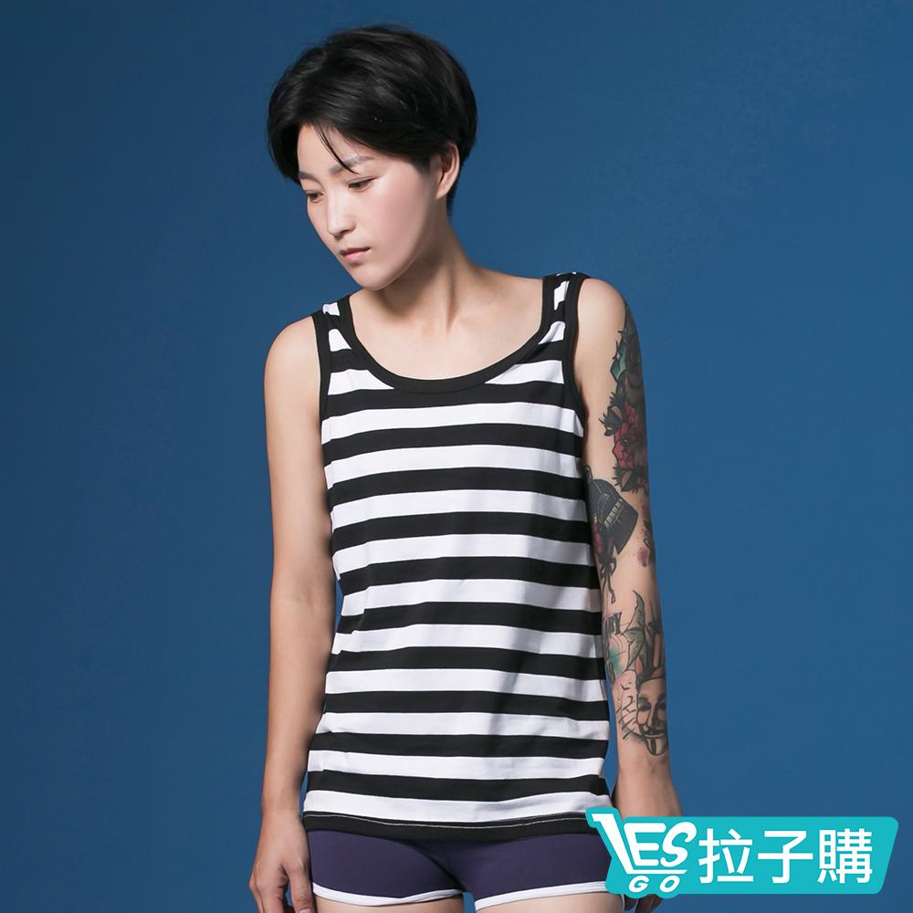 束胸 外穿式條紋掛 全身束胸 LESGO