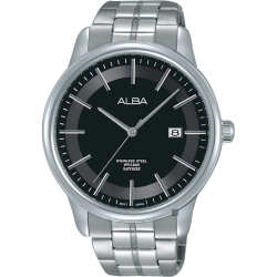 ALBA雅柏 日系時尚手錶(AS9D89X1)-黑/42mm