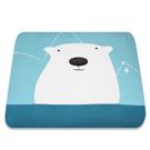 Yvonne Collection6x7呎北極熊雙人四季被-淺藍綠