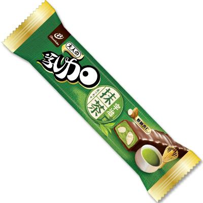 77 乳加巧克力-宇治抹茶杏仁(28g)