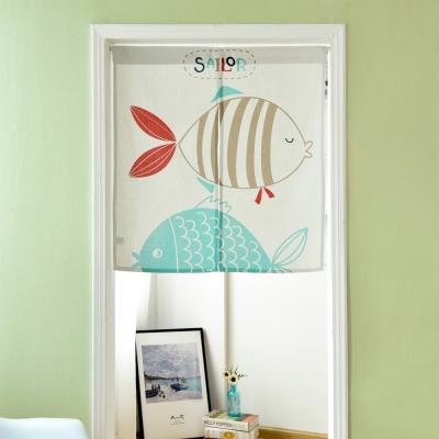 伊美居 - 熱帶魚門簾 85cm x 90cm 1件