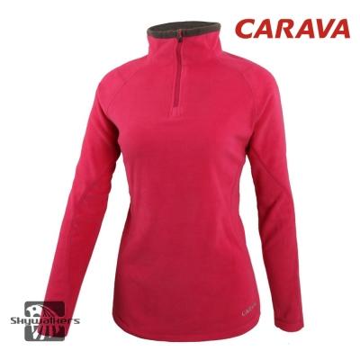 CARAVA 《女款高領刷毛衣》