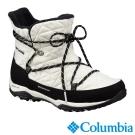 Columbia哥倫比亞 女款-防水保暖雪鞋-白色 UBL17440WT