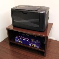頂堅 鐵板製桌上型-置物架/印表機架/傳真機架(二色可選)