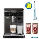 PHILIPS飛利浦Saeco全自動義式咖啡機HD8869送電動牙刷HX6711咖啡豆2磅