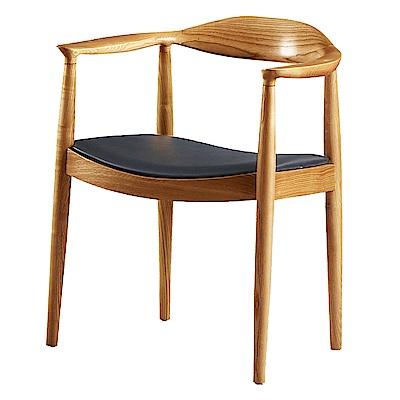 AS-畢夏普原木餐椅-59x56x76cm
