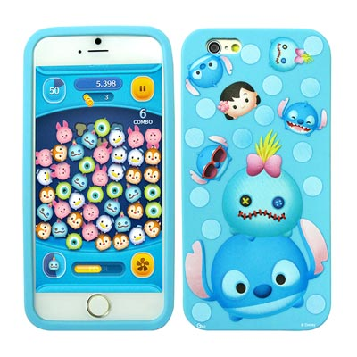 TSUM TSUM iPhone 6s plus 5.5吋 2D立體手機軟膠套(...
