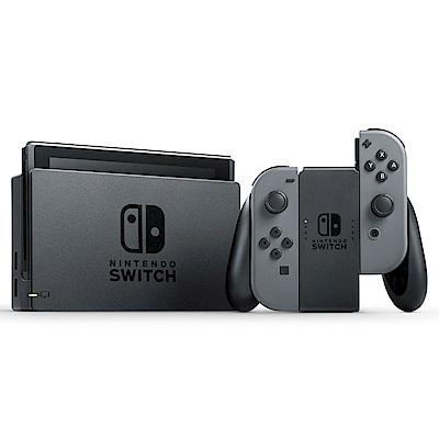 任天堂 Nintendo Switch 灰色Joy-Con 台灣公司機