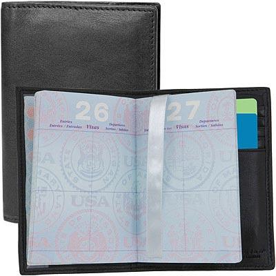TRAVELON 真皮超防護護照夾